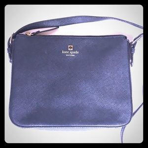 Black Kate Spade Leather crossbody bag